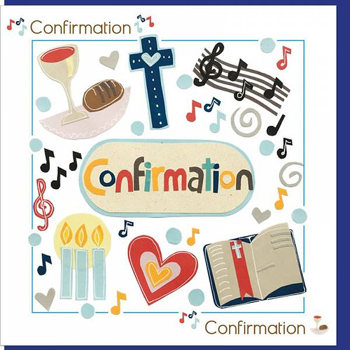 Confirmation Christian Greetings Card