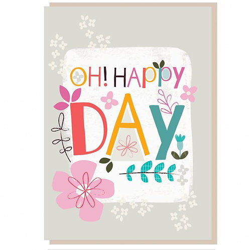 Oh! Happy Day Christian Greetings Card