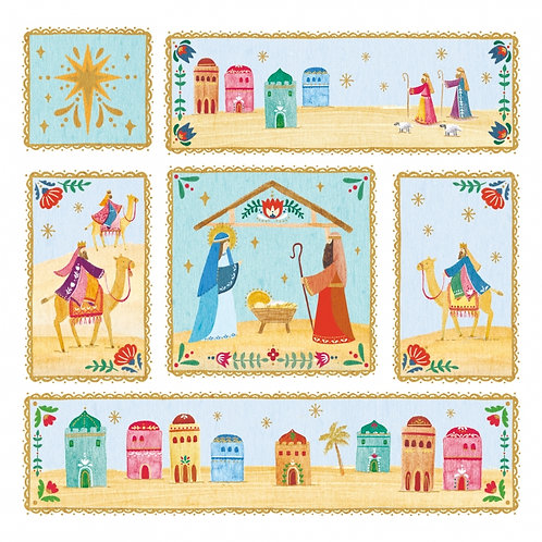 Tearfund Folk Nativity Christian Charity Christmas Cards