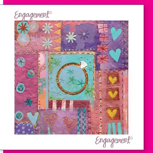 Engagement Christian Greetings Card