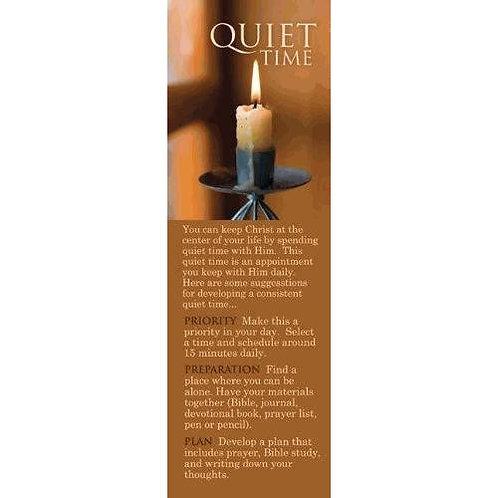 Quiet Time Hebrews 10:22 Christian Bookmark