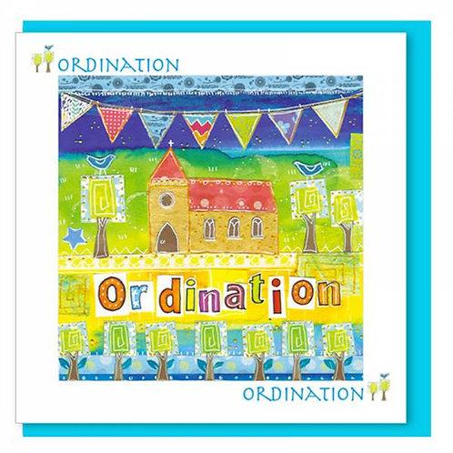 Ordination Christian Greetings Card