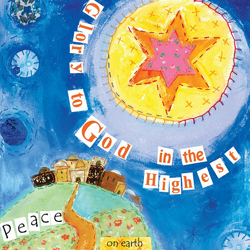 Glory To God Small Christian Christmas Cards