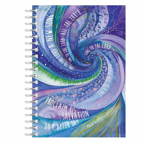 Sing to the Lord A5 Wirebound Christian Notebook