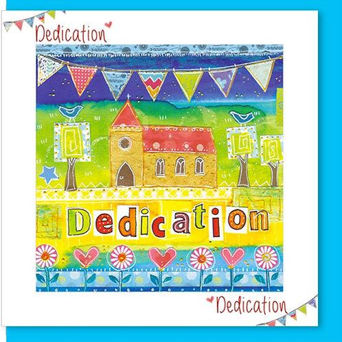 Dedication Christian Greetings Card