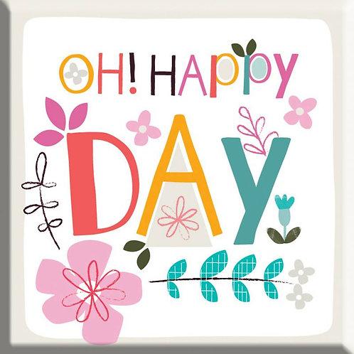 Oh! Happy Day Christian Fridge Magnet