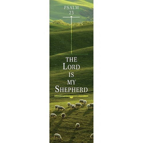 The Lord Is My Shepherd Psalm 23 Christian Bookmark