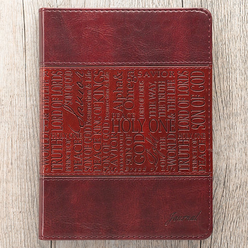 Names Of Jesus Flexcover Christian Journal