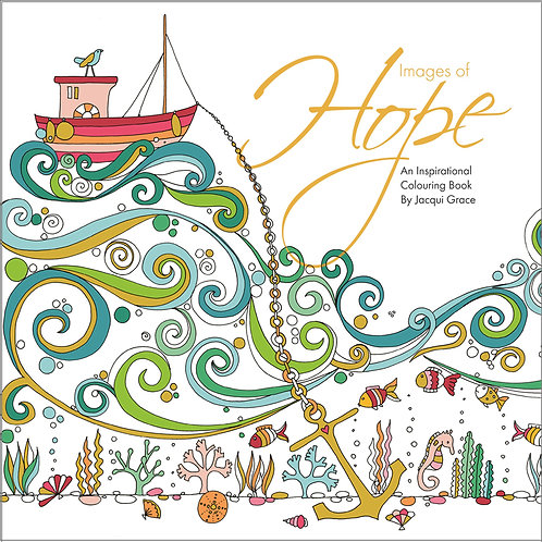 Images Of Hope Adult Christian Colouring Book