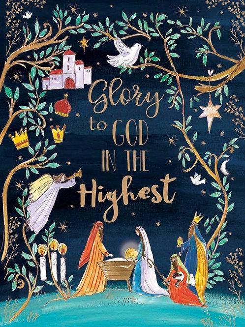 Tearfund Glory to God Christian Charity Christmas Cards