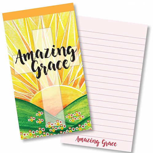 Amazing Grace Jotter Notepad