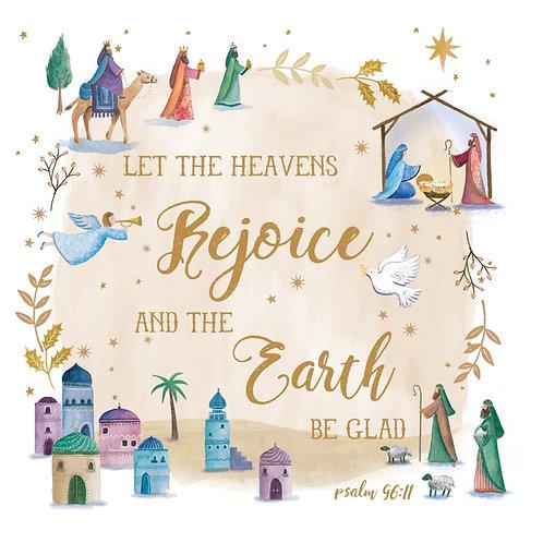Tearfund Heavens Rejoice Christian Charity Christmas Cards