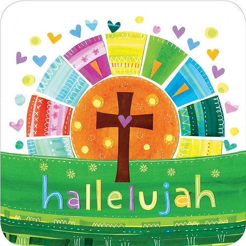 Hallelujah Christian Coaster