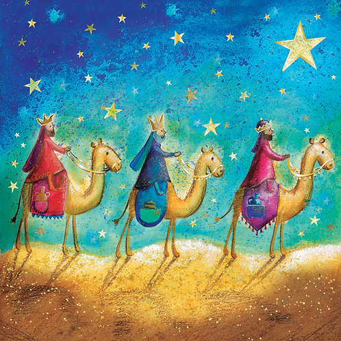 Three Kings Luxury Christian Christmas Cards