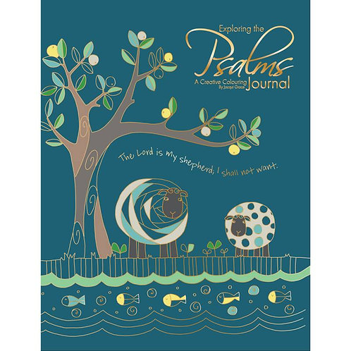Exploring The Psalms Creative Colouring Journal