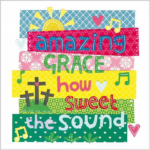 Amazing Grace Christian Easter Cards