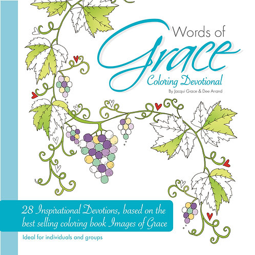 Words Of Grace Christian Colouring Devotional