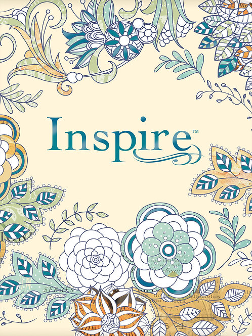 NLT Inspire Bible For Creative Journaling Softback Cover And Boxed