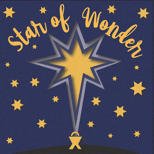Star Of Wonder Small Christian Christmas Cards