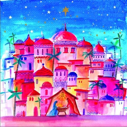 Tearfund Bright Bethlehem Christian Charity Christmas Cards