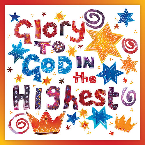 Glory To God In The Highest Christian Christmas Cards