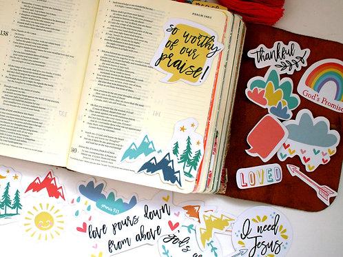 God's Promises Bible Journaling Laser Cut Out Ephemera