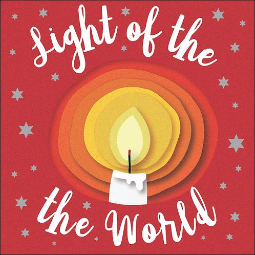 Light Of The World Small Christian Christmas Cards