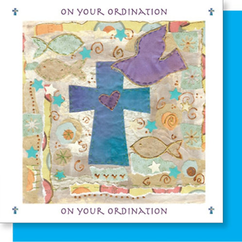 On Your Ordination Christian Greetings Card
