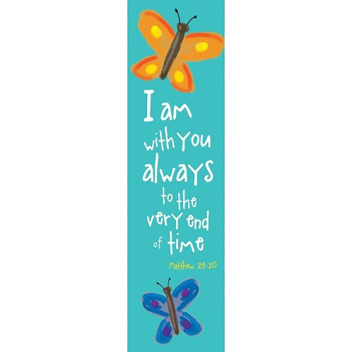 I Am With You Always Christian Bookmark