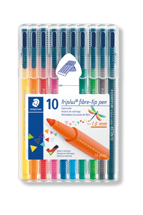 Staedtler Triplus Fibre Tip Pens