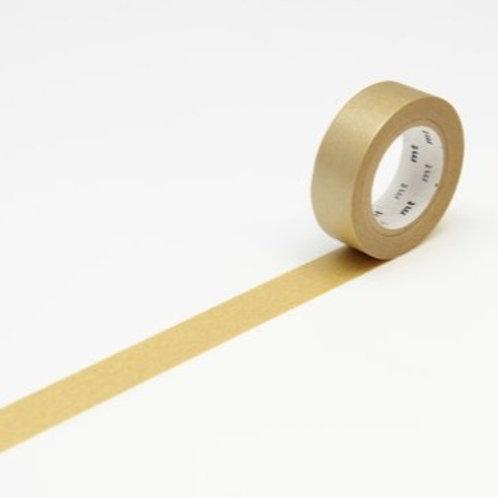 mt Gold Washi Masking Tape 10m Single Roll