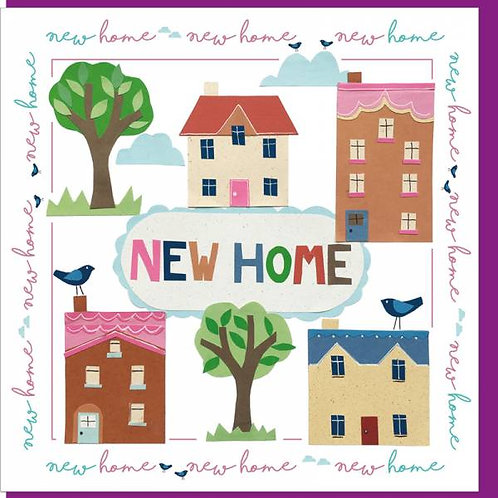 New Home Christian Greetings Card