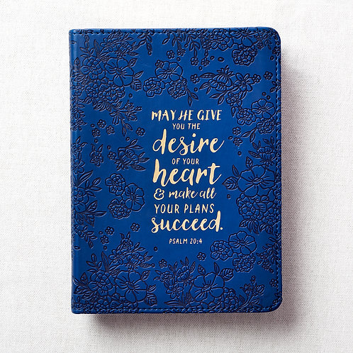 May He Give You The Desires Of Your Heart Flexcover Christian Journal