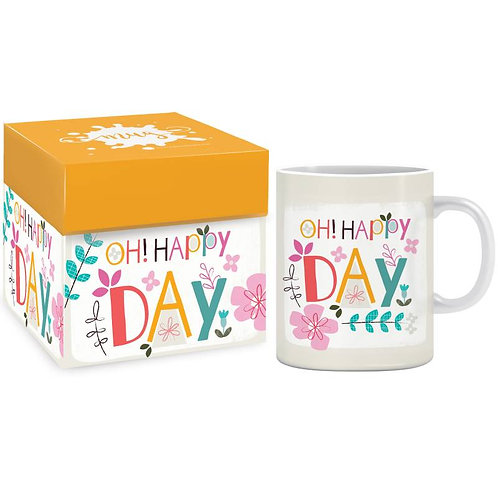 Oh! Happy Day Christian Mug in Gift Box