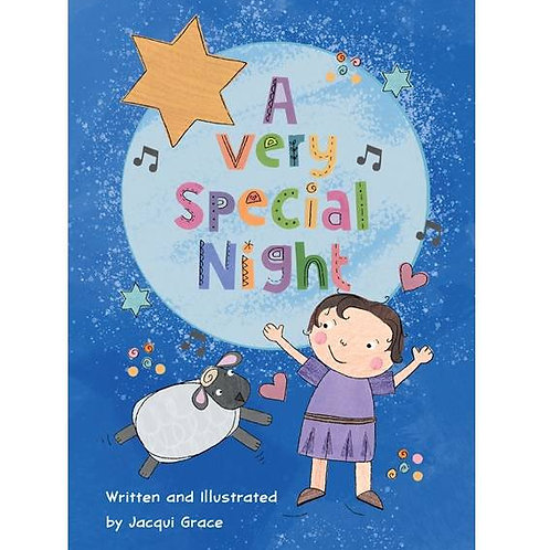 A Very Special Night Christmas Story Booklet for Children