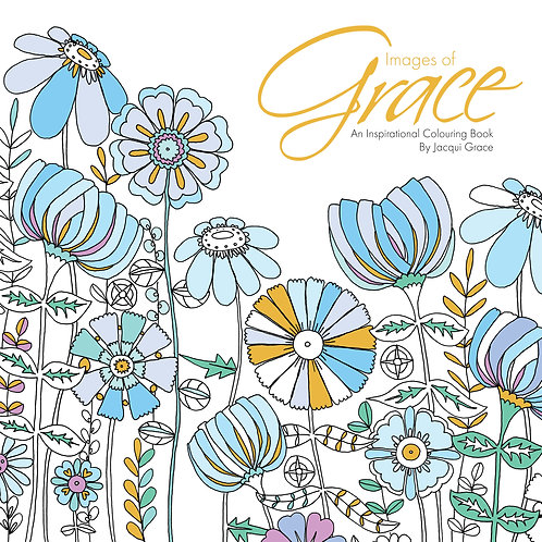 Images Of Grace Adult Christian Colouring Book