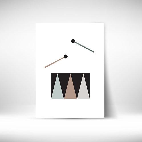 Music Poster - Drum1