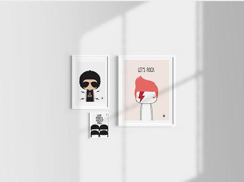 Set of 3 posters (E)
