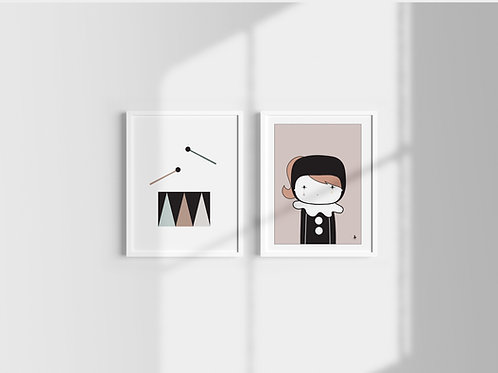 Set of 2 posters (c)