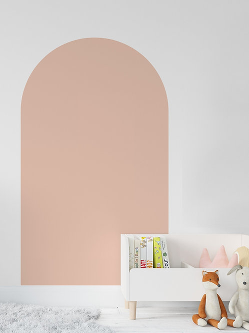 Pink Rainbow Wall Decal