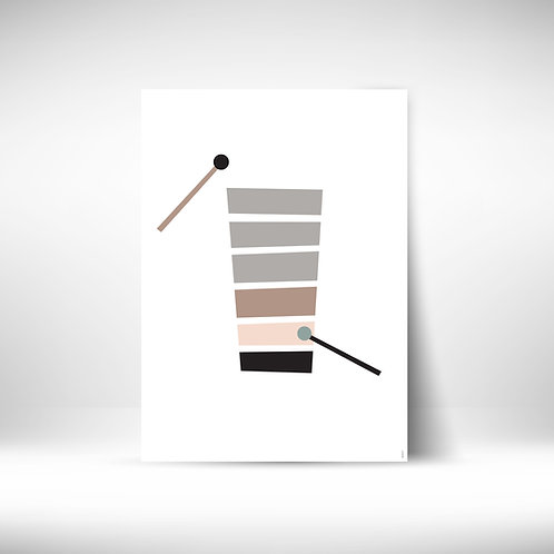 Music Poster - xylophone