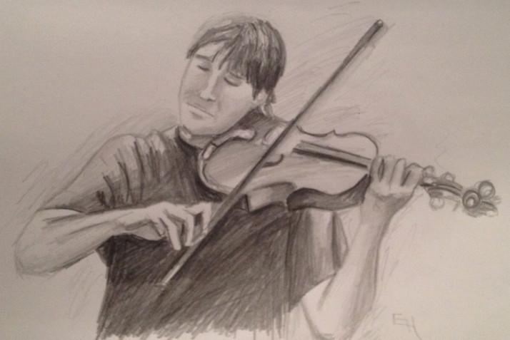 Late Night Fiddler Sketch