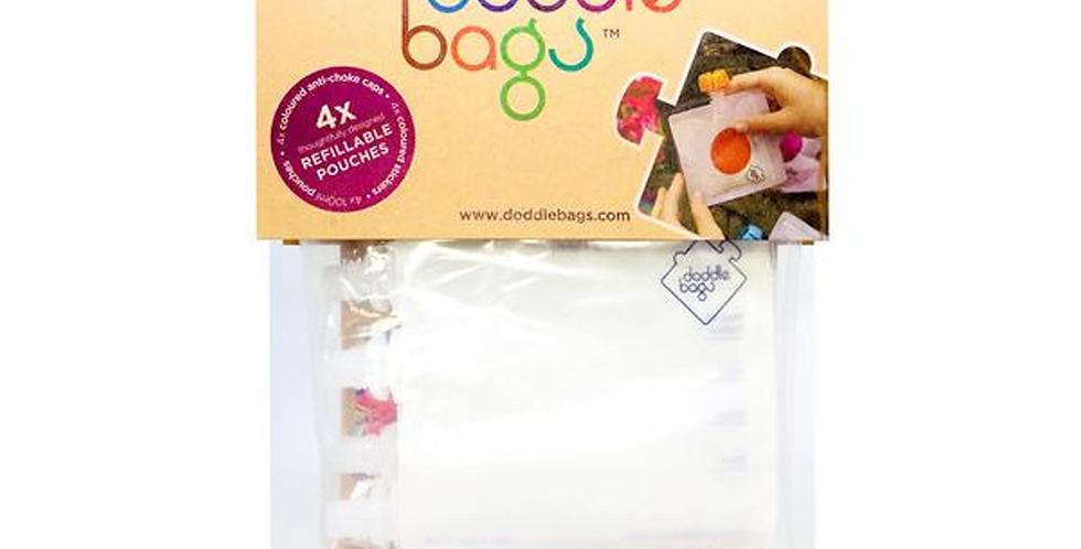 4 Doodle Bags