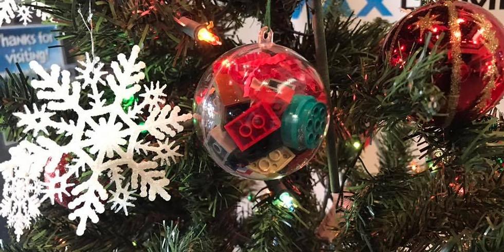 Make & Take LEGO Homeschool Ornament Build #2