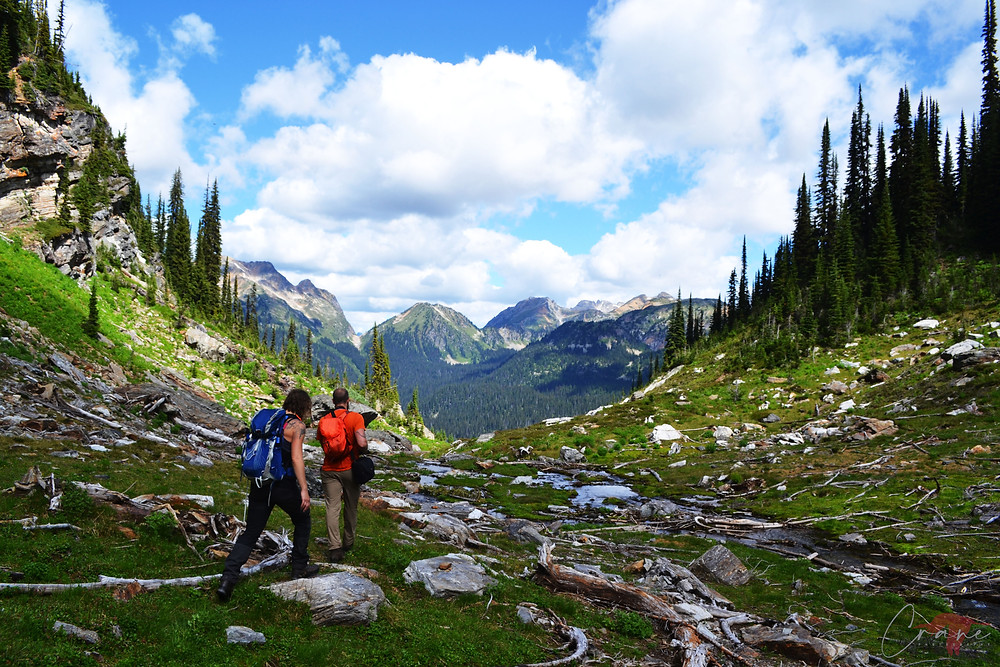Hiking Mount Fosthall in Monashee Provincial Park