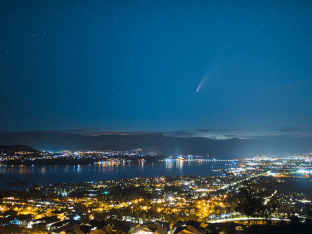 Photographing Comet Neowise Over Kelowna