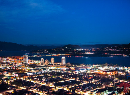 Photographing Kelowna at Night