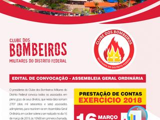 CONVOCAÇÃO - ASSEMBLEIA GERAL ORDINÁRIA