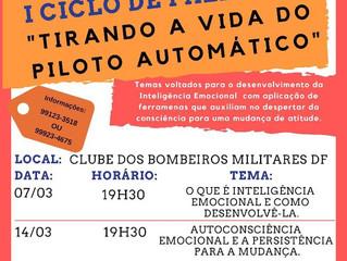 I CICLO DE PALESTRAS DE INTELIGÊNCIA EMOCIONAL