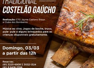 TRADICIONAL COSTELÃO GAÚCHO - CTG
